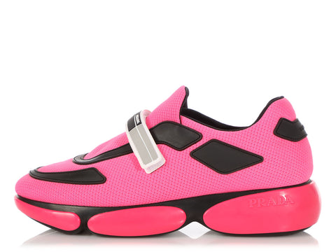Prada Pink Cloudbust Sneakers