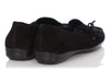 Prada Black Suede Moccasin Loafers