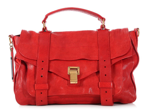 Proenza Schouler Red Medium PS1