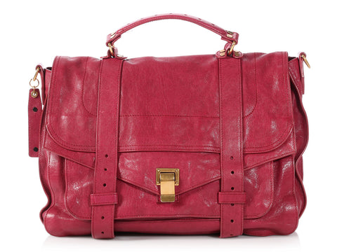 Proenza Schouler Large Raspberry PS1