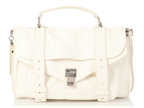 Proenza Schouler Medium White PS1