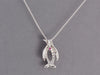 Roberto Coin Diamond Penguin Necklace