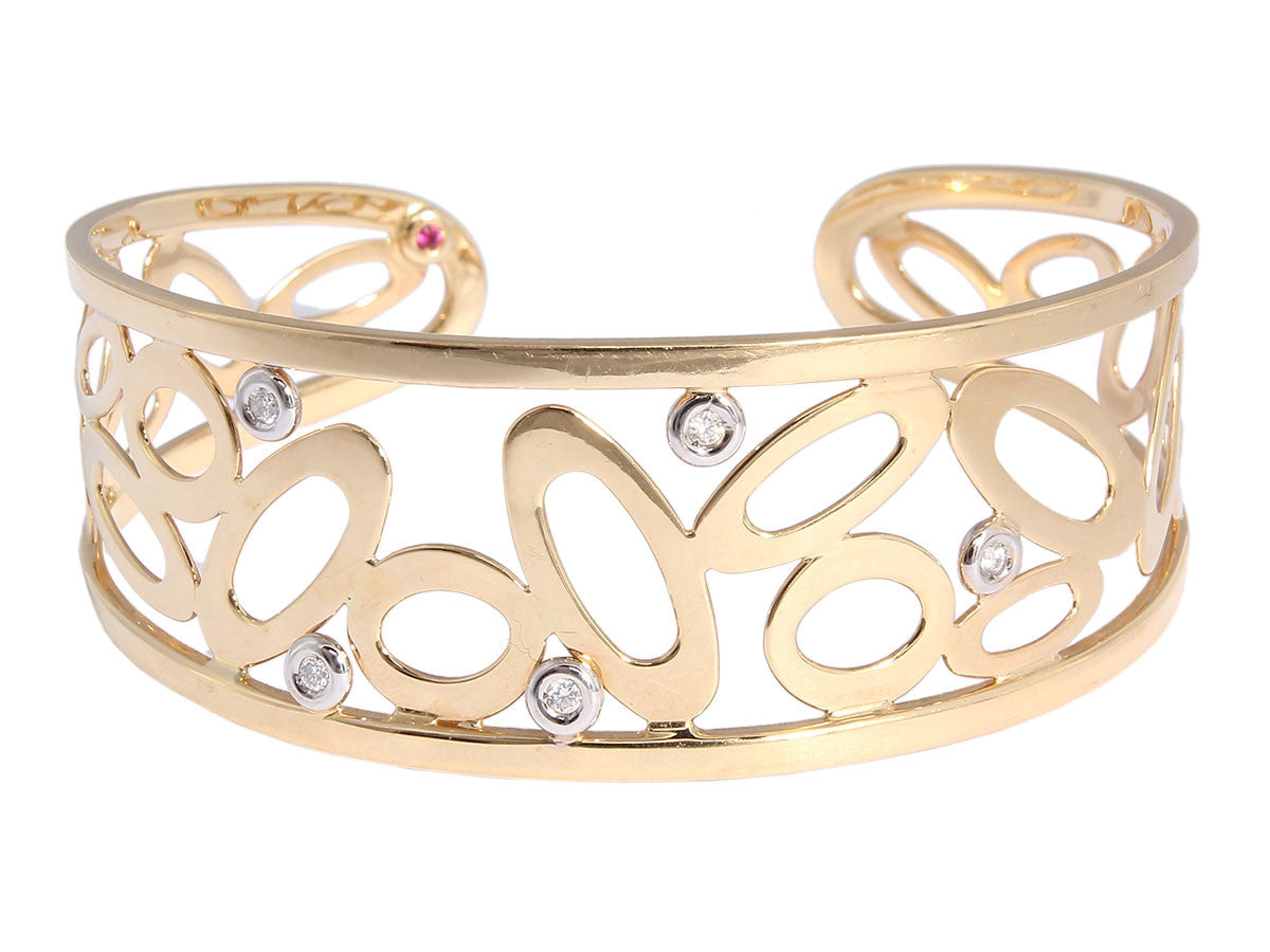 Roberto Coin Chic and Shine Cuff
