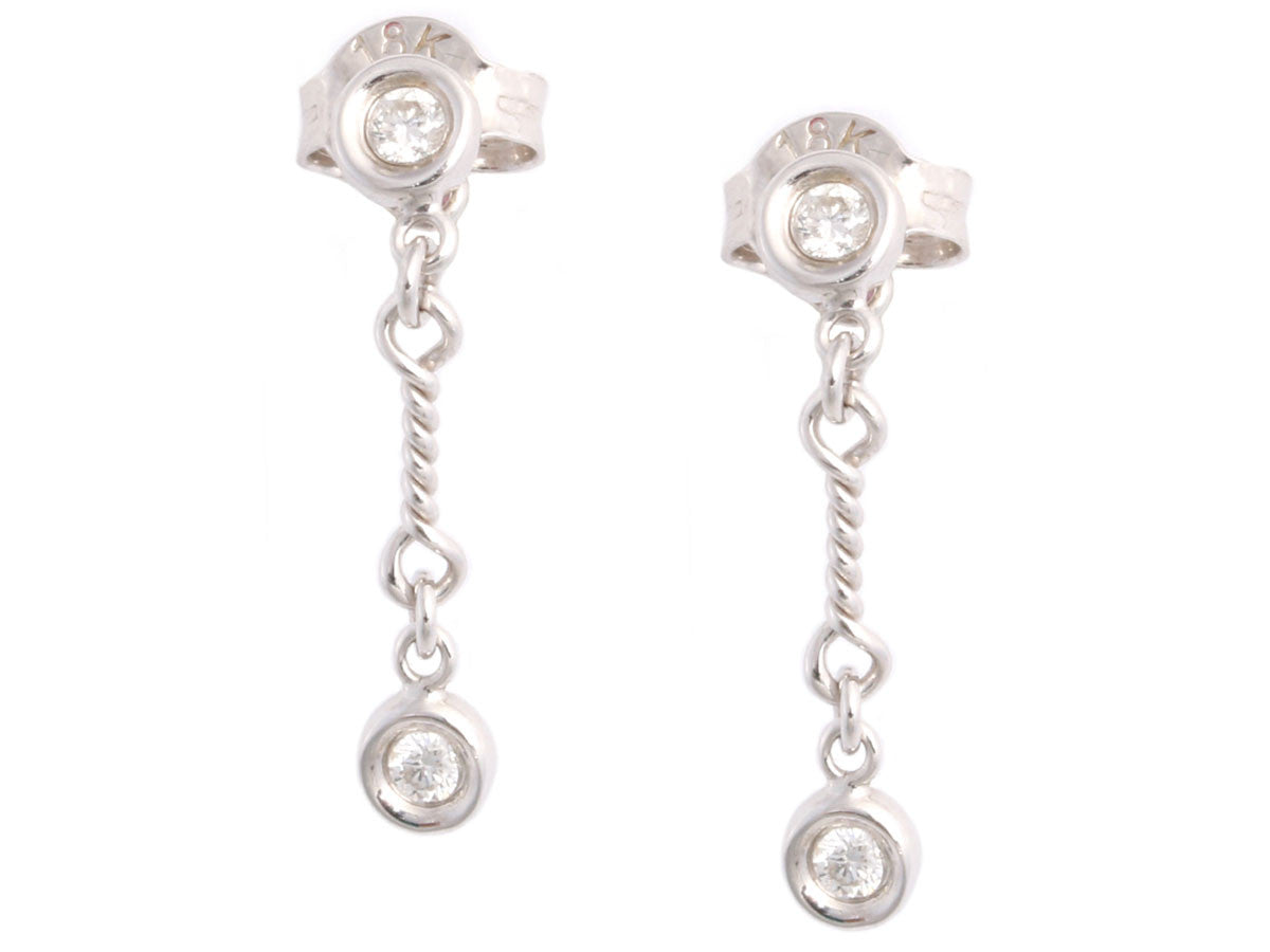 Roberto Coin Diamond Drop Earrings