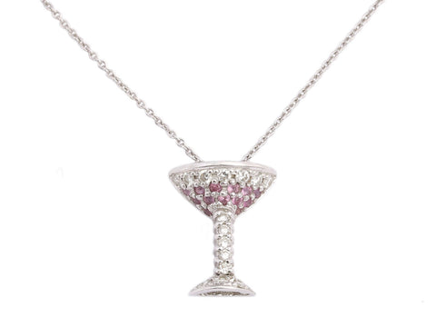 Roberto Coin 18K Gold Diamond Cosmo Tiny Treasures Necklace