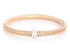Roberto Coin 18K Rose Gold and Diamond Primavera Bracelet