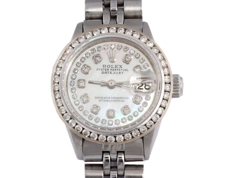 Rolex Diamond Ladies Oyster Perpetual Datejust