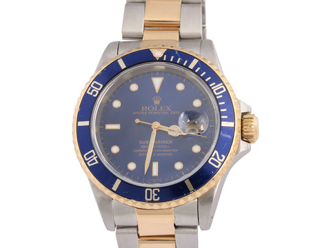 Rolex Men's Two Tone Submariner