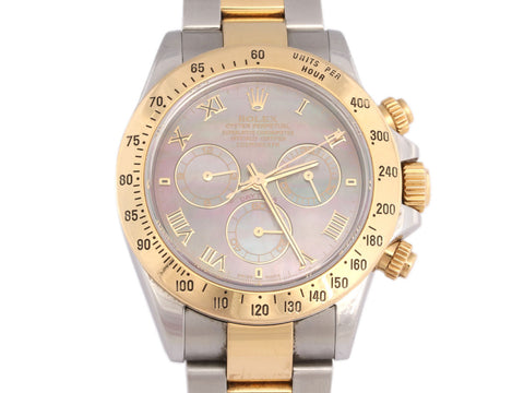 Rolex Men's Cosmograph Daytona Two Tone Watch
