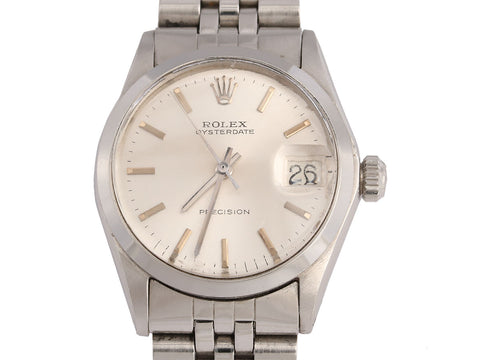Rolex Midsize Oysterdate Precision Watch 31mm