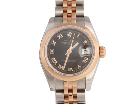Rolex Two-Tone Ladies Datejust Watch 26mm