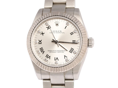 Rolex Midsize Oyster Perpetual Watch 31mm