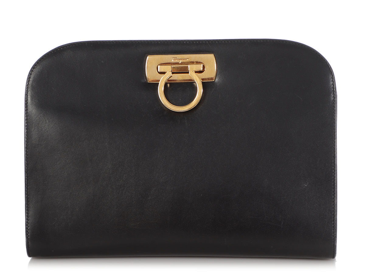 Ferragamo Vintage Black Bag