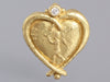Seidengang 18K Yellow Gold Heart Pendant
