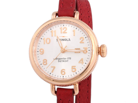 Shinola Rose Gold Birdy Watch