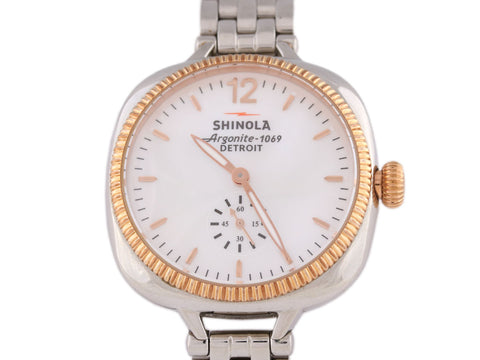 Shinola Gomelsky Two-Tone Ladies Watch