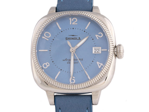 Shinola Blue Gomelsky Ladies Watch 36mm