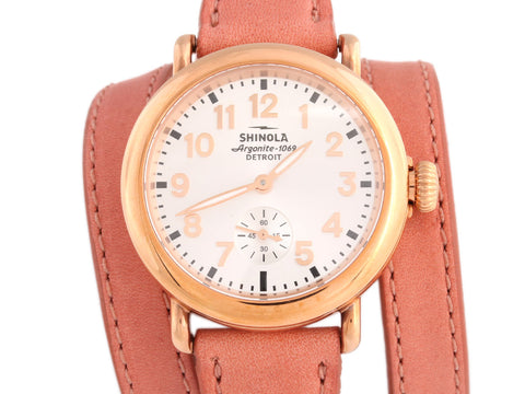 Shinola Runwell Triple Wrap Ladies Watch 36mm