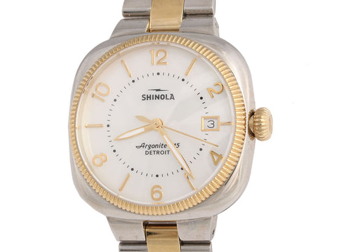Shinola Two-Tone Gomelsky Watch 36mm