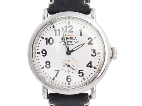 Shinola Stainless Steel Runwell Watch 41mm