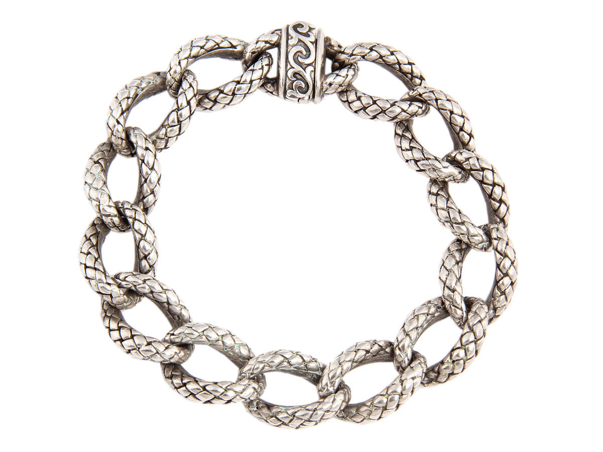 Scott Kay Ladies Sterling Link Bracelet