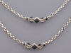 Stephen Webster Long Sterling Silver and Black Crystals Superstud Necklace