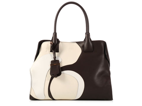 Tod's Medium Tri-Color Cape Bag