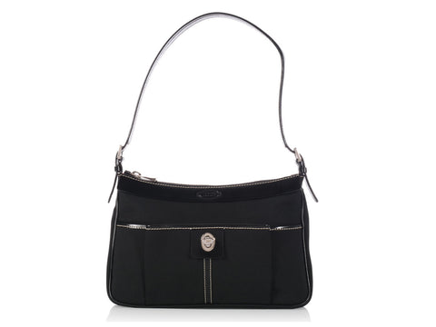 Tod's Black Mini Nylon Bag