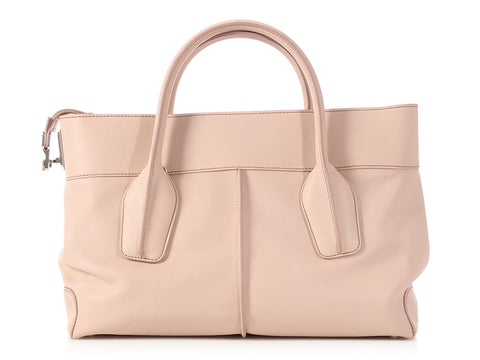 Tod's Beige D-Styling 2 Manici Media Bag