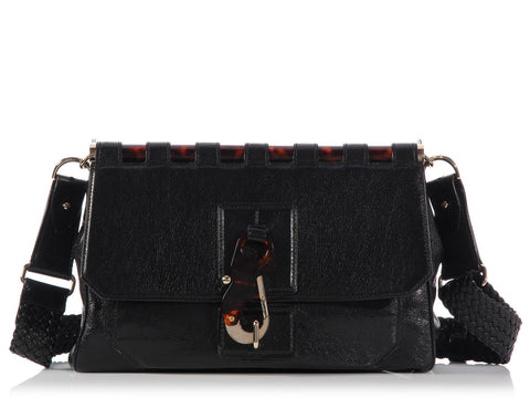 Tom Ford Black Lily Shoulder Bag