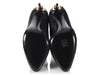 Tom Ford Black Zipper Heel Ankle Boots
