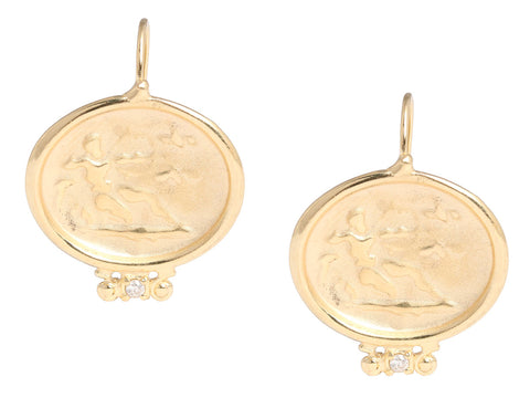 Tagliamonte 18K Gold Hercules Earrings