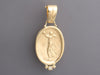 Tagliamonte 18K Yellow Gold Diamond Dancing Muse Pendant