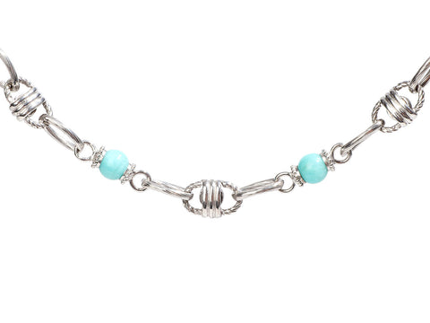 Tagliamonte Gold-Washed Sterling Silver Amazonite Bracelet