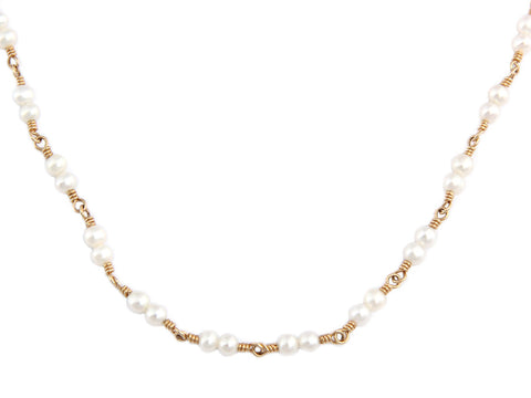 Temple St. Clair Double Pearl Karina Necklace