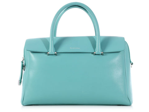 Tiffany & Co. Small Blue Peyton Satchel