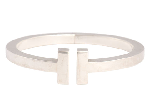 Tiffany & Co. Sterling Silver Tiffany T Square Bracelet