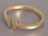 Tiffany & Co. 18K Gold Square T Bracelet