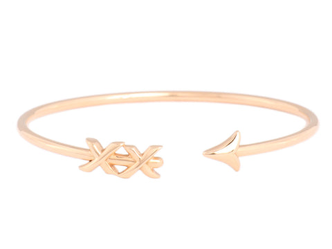 Tiffany & Co. Large 18K Rose Gold Paloma's Graffiti Arrow Cuff