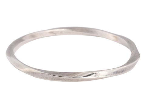 Tiffany & Co. Sterling Silver Twist Bangle
