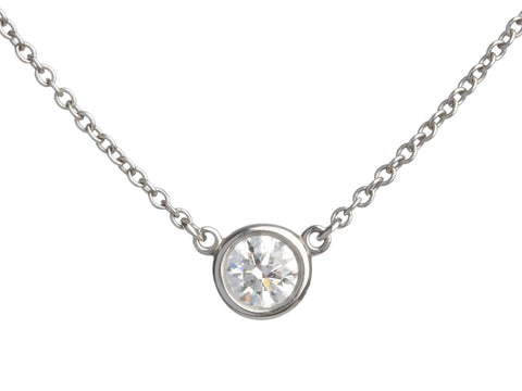 Tiffany & Co. Elsa Peretti Diamonds by the Yard Pendant Necklace