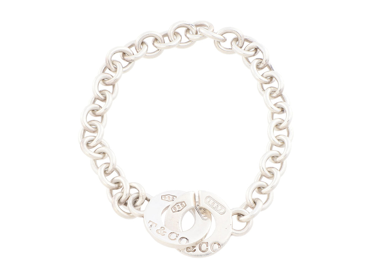 Tiffany & Co. Sterling Silver Interlocking Circles 1837 Bracelet