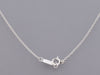 Tiffany & Co. Platinum Diamond Horseshoe Pendant Necklace