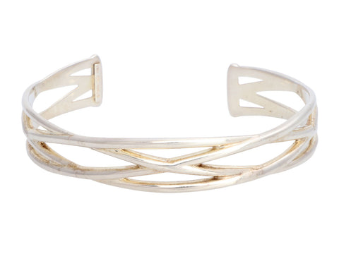 Tiffany & Co. Sterling Silver Open Cuff Bracelet