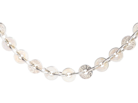 Tiffany & Co. Sterling Silver 1837 Circles Chain Bracelet
