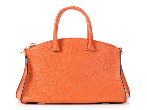 VBH Orange Grained Trevi Tote