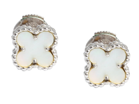Van Cleef & Arpels Sweet Mother of Pearl Alhambra Earrings