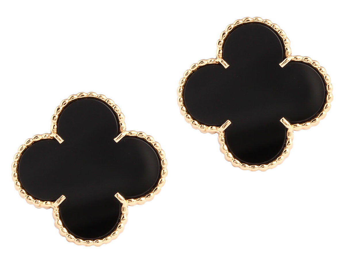 Van Cleef & Arpels Magic Black Onyx Ear Clips