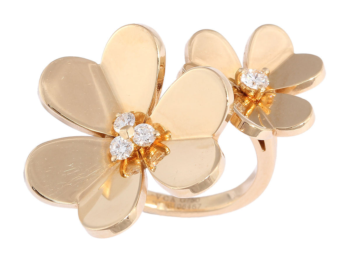 Van Cleef & Arpels Frivole Between the Finger Ring