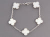 Van Cleef & Arpels Mother of Pearl Vintage Alhambra Bracelet